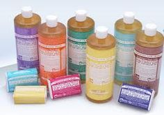A Great synapsis of Dr. Bronner's magic soap.  I myself have recently fallen in love with the product.  ( on top of being able to use it on everything, it's fair trade, organic, not animal tested and the smells are therapeutic.