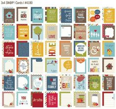 Sneak Peeks of 4 of the coming Sn@p Sets from Simple Stories. (Boy, Girl, Family, Christmas)
