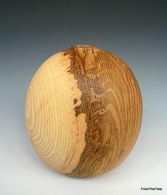 Olive ash ovoid form