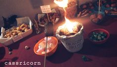 How to throw a Game of Thrones themed Party like I did. I share some tips and tricks to host a Feast for Crows even if you are on a budget. Happy Name Day, Happy Names, Dragon Fire Pit, A Feast For Crows, Game Of Thrones Party, Dungeons And Dragons Dice, Dragon Dies, Got Party