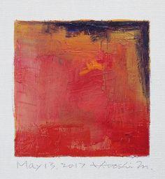 Se trata de una Original pintura al óleo abstracta por Hiroshi Matsumoto Título: 13 de mayo de 2017 Tamaño: 9,0 x 9,0 cm (aprox. 4 x 4 pulg.) Al tamaño del lienzo: 14,0 x 14,0 cm (aprox. 5,5 x 5.5) Medios: Óleo sobre lienzo Año: 2017 Esta es mi pintura cotidiana llamada pintura de 9 x 9 y el título es la fecha de esta pintura que he creado. Pintura viene con halos. Pintura se mate en blanco para marco de 8 x 10 pulgadas estándar (no incluido) y se envía con certificado de autenticidad fir...