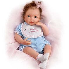 Katie Kisses Touch-Activated Interactive Baby Doll: Talks, Cries & More - Realistic Baby Dolls