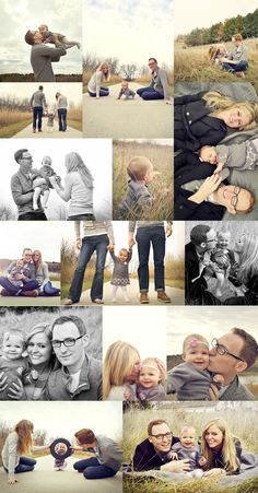 Family Photo's with Lacy Marie Photography in Omaha NE - Woh! So similar to the family photo shoot we did last fall.