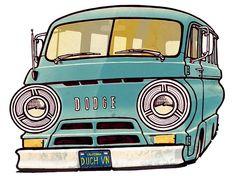 1966 Dodge A-100 by Quma's Back Yard, via Flickr