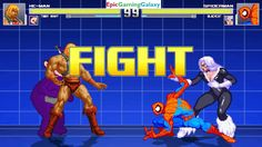 Black Cat And Spider-Man VS He-Man And Tinky-Winky The Teletubby In A MUGEN Match / Battle / Fight This video showcases Gameplay of Spider-Man The Superhero And Black Cat VS He-Man From The He-Man And The Masters of the Universe Series And Tinky-Winky The Teletubby From The Teletubbies Series In A MUGEN Match / Battle / Fight