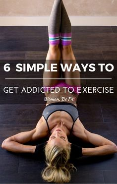 You're glued to the TV, can't be separated from your smartphone and constantly checking social media. But what about being addicted to exercise? You'll be surprised what a few lifestyle tweaks and a little motivation can do to transform your fitness habits. Here's how... #fitness #intense #workout