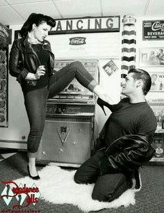 Rockabilly couple                                                                                                                                                      More