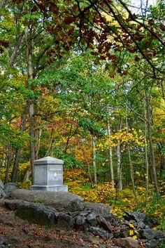 20th Maine monument - Little Round Top Gettysburg