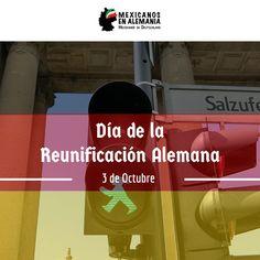3 de octubre: la Reunificación Alemana! Día en que se hizo efectiva la unificación política de las dos Alemanias, convirtiendo a #Berlin en la capital de un #NuevoPais. #Alemania #Reunificacion #MexicanosEnAlemania #VivirEnAlemania
