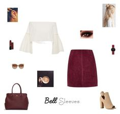 """""""bell sleeves"""" by synclairel ❤ liked on Polyvore featuring River Island, Rosetta Getty, Abbott Lyon and STELLA McCARTNEY"""