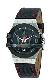 Montre homme en cuir & acier par Maserati – 198.00€  Grâce à cette montre Maserati vous adopterez un look à la fois urbain et stylé ! Laissez-vous tenter !