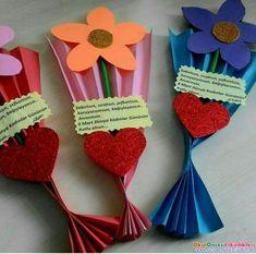 8 Mart Dünya Kadınlar Günü Hediye Çiçekleri - OKUL ÖNCESİ ETKİNLİKLERİ - Hayallerinizi Sınırlamayın