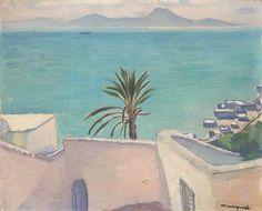 Sidi Bou Saïd, le palmier by Albert Marquet, c.1923