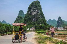 Qué ver y hacer en Yangshuo, una de las ciudades más especiales de nuestro viaje a China. Alrededores de Langmen Village