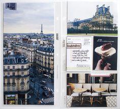Documenting Paris. 6x12 album inspiration : Kelly Purkey