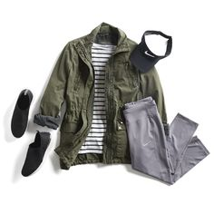 Stitch Fix Casual Athleisure Outfit Ideas I'm- the jacket could look good with the strip shirt I already have. Pants are very cute also Best Casual Outfits, Summer Fashion Outfits, Cool Outfits, Fashion Ideas, Amazing Outfits, Fashion Trends, Fashion Shoes, Women's Fashion, Fashion Tips
