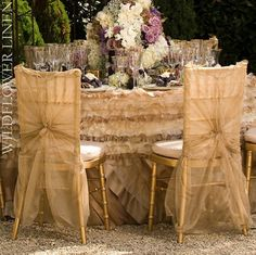 chair cover elegance black living room chairs 13 best wedding ideas images dream decorated gold 2 jpg 720 719 table linens