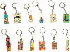 les porte-clefs...