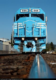 RailPictures.Net Photo: DLMX 644 Portland & Western Railroad EMD SDP40F at Newberg, Oregon by Chris Fussell