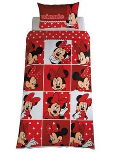 Minnie mouse bed rooms | ... :: Character :: Disney :: Minnie :: Minnie Mouse Montage Single Set