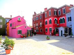 #Burano near #Venice. Join our visual journey through Venice. This photo by Oktay Kasman is but one of the 1121 on the website.