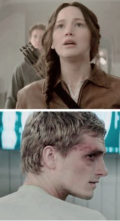 """""""Her actions have a negative impact on Peeta, who she is desperately trying to protect."""" - Nina Jacobson"""