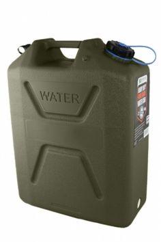 10L 10 Litre Fuel Tank Roof Rack Jerry Can Plastic Petrol Spout Expedition