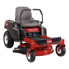 2015 Toro Consumer The TimeCutter® zero-turn riding mower is powered by a premium Toro® single-cylinder engine. It features a compact 32 inch wide, 4 inch deep, top discharge deck design with convenient washout port. Lawn Equipment, Outdoor Power Equipment, Toro Mowers, Zero Turn Lawn Mowers, Toro Zero Turn Mowers, Steel Deck, Riding Lawn Mowers