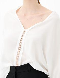 Anju Top - Tops & Shirts - Sandro Paris