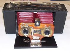 Thin Blue Line: Antique Cameras