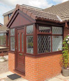 Porches | UPVC Porches & Brick Porches from 5 Star Windows & Conservatories, Worcestershire