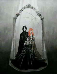 Severus Snape e o espelho de ojesed
