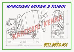 PENJUAL dan PEMBUAT TRUCK MIXER / MOLEN >> KAROSERI KENKA