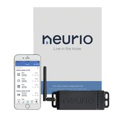 The Neurio Home Energy Monitor gathers information directly from your electrical panel to help you save energy and money. $220; Neurio