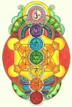 beautiful chakra art