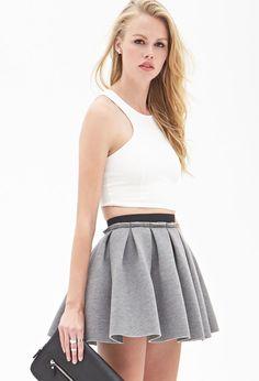 Structured Skater Skirt