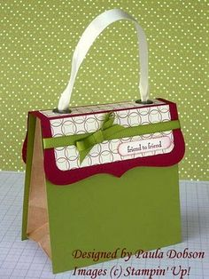 Bag - she's selling a tutorial for this, but you could use any size bag really and come up with your own.