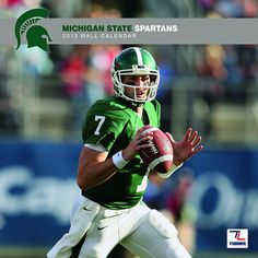 Michigan State Spartans Wall Calendar: The 2013 Michigan State Spartans wall calendar is the perfect tribute to your favorite college team. Each monthly page displays a high-quality, fan-pleasing image that will have everyone in your home or work area hailing the Spartans all year long!  $15.99  www.calendars.com...