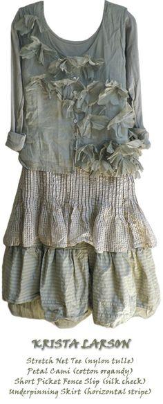 Krista larson ropa vintage