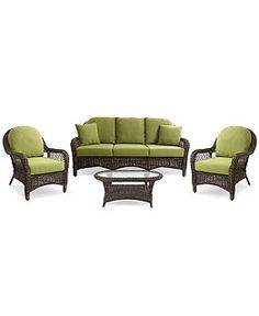 Windemere Outdoor Patio Furniture Seating Sets & Pieces - Outdoor & Patio Furniture - furniture - Macy's