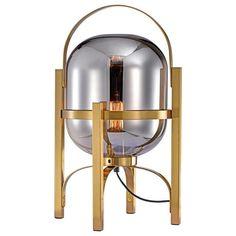 DONNA Desk Lamp — Best Goodie Shop Nightstand Lamp, Bedside Table Lamps, Desk Lamp, Table Lamp Shades, Dining Lighting, Room Lights, Light Table, Interior Lighting, Clear Glass