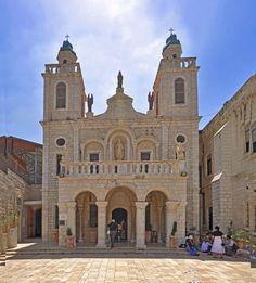 """The """"Wedding church"""" in Cana, Israel                   Where Jesus turned water into wine.- La """"iglesia de la boda"""" de Caná, Israel, donde Jesús convirtió el agua en vino."""