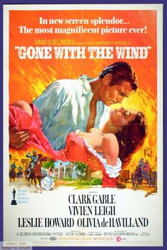 """Via col vento"" di Victor Fleming, George Cukor, Sam Wood (1939)"