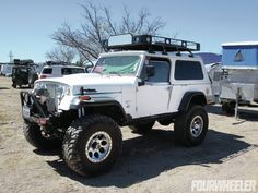 Old School Jeep Commando- I would love to have this one.