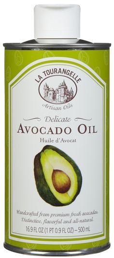La Tourangelle Avocado Oil Tins - 16.9 oz - Free Shipping