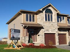 Braebury's new model home located at 1600 Davenport Crescent