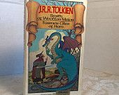 Vintage Hardcover Book Smith of Wootton Major and Farmer Giles of Ham by JRR Tolkien