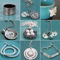 from the vintagepearl blog. Beautiful jewelery for proud moms....not there yet, but someday!