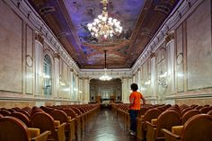 En el Antiguo Conservatorio Mª Cristina de Málaga