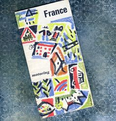 1968 VINTAGE MAP of FRANCE    For Driving    Map by BunnysLuck